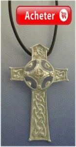 croix celtique pendentif argent