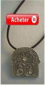 pendentif porte alpha oméga