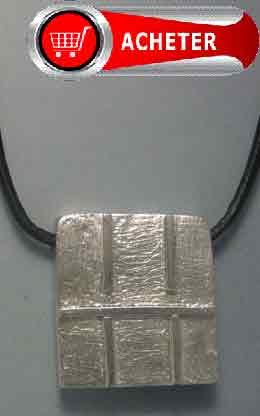 Horoscope maya signe voyageur du ciel. Pendentif argent amulette