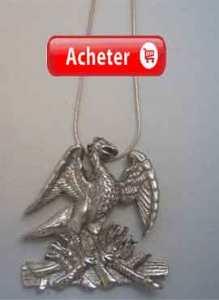 phenix-phoenix-pendentif-argent 925 collier