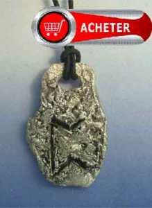 rune-Perthro, perd, petra, peodro, pairthra, peordh PENDENTIF ARGENT 925