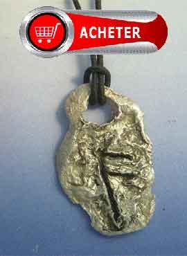 rune Ansuz, ansur, unsur, oss, ôs, àss ou aza PENDENTIF ARGENT 925