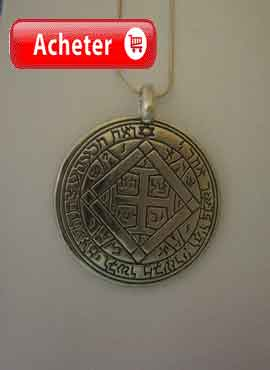 talisman de Vénus quatrième pentacle pendentif
