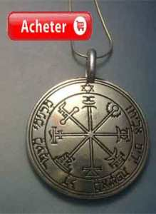 TALISMÁN DE JUPITER SEPTIÈME PENTACLE medaille clavicules salomon