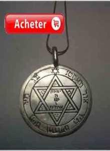 talisman de mars 2º pentacle clavicules Salomon