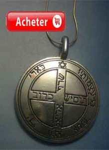 Talismán Jupiter sixième pentacle Salomon medaille clavicules salomon