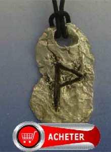 rune wunjo-winjawynn-vend pendentif argent 925