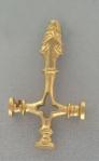 croix du lop pendentif or