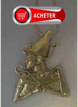 osiris-dieu-egypte pendentif argent bijou