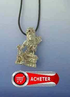 tara-blanche-tibetaine-bodhisattva-pendentif argent amulette hindouisme